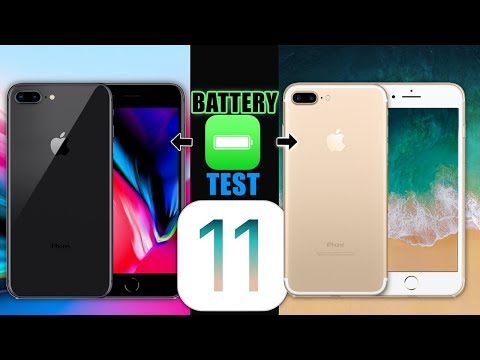 iPhone 8 Plus Vs iPhone 7 Plus Battery TEST |This Might Surprise You