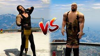 UNDERTAKER VS BIG SHOW | WWE GTA 5 MODS | CROCO