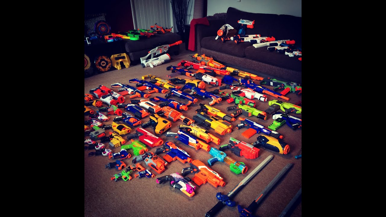 Nerf Gun Arsenal 200 Subscribers Specia...