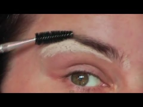 How to Pluck, Shape & Fill in Eye Brows tutorial