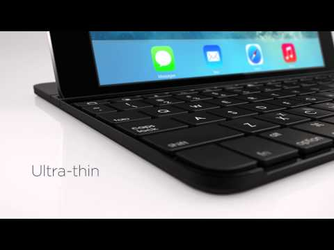 New Logitech Ultrathin Keyboard Cover for iPad