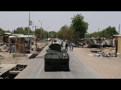 Rare footage shows Nigerian town liberated from Boko Haram