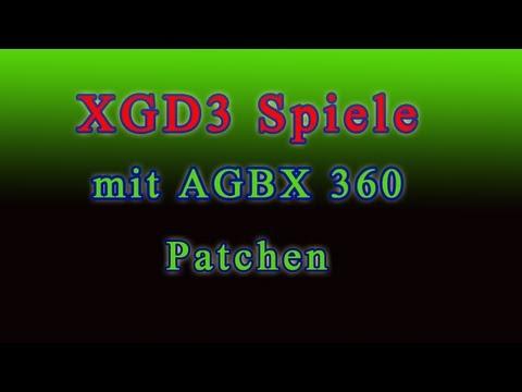 Anleitung xbox 360 spiele brennen