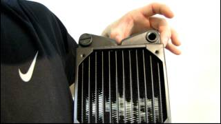 Swiftech MCR420-XP Quad 120mm Radiator Unboxing & First Look Linus Tech Tips