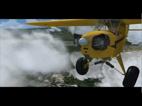 Flight Simulator X vs. Reality - Orbx Northern Rockies