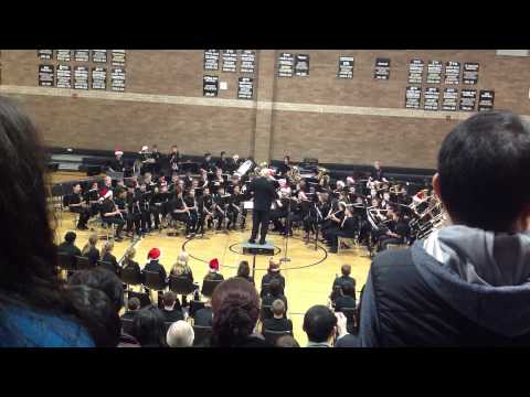 Can Can Christmas. Shahala Middle School 7th grade band.