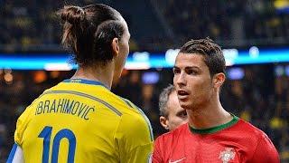 Cristiano Ronaldo Vs Zlatan Ibrahimovic ● Battle For Best Goals 2015   HD  