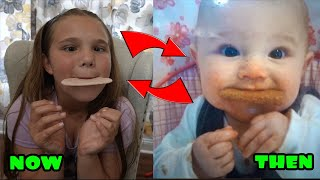 Recreating Our Funny Baby Pictures!