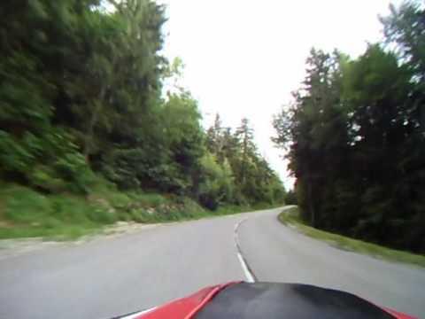 Martin Siegrist riding Semnoz
