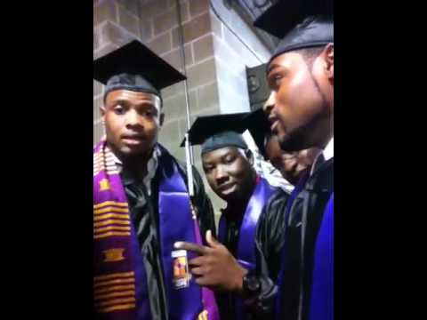 "Arkansas Baptist College Graduation 2011 ""its so hard"""