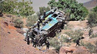 At least 44 die in Peru after bus plunges into ravine