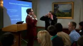 Sheldon and Leonard get Into a Fight