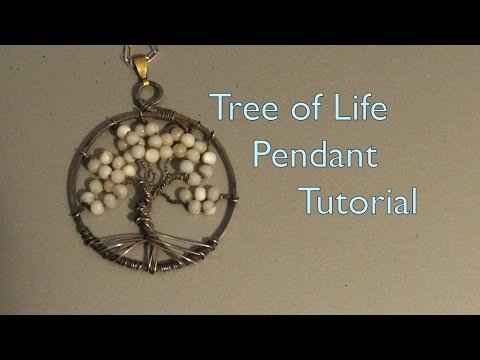 Tree-of-Life Pendant Tutorial