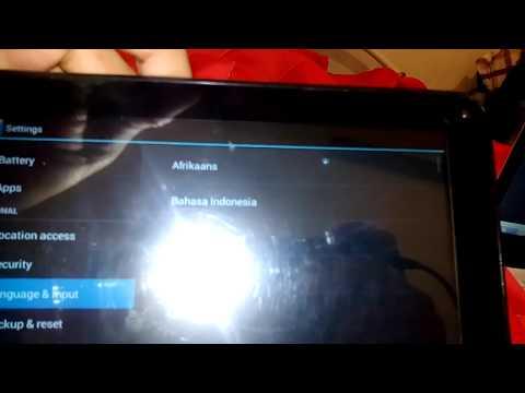como mudar idioma do tablet 2015 para português (HD)
