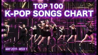 (TOP 100) K-POP SONGS CHART | MAY 2019 (WEEK 1)