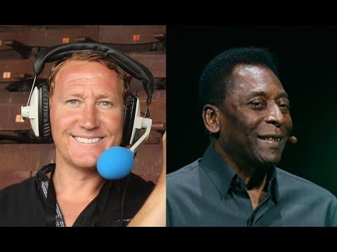 Ray Parlour Interviews Pele | HILARIOUSLY AWKWARD