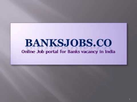 Bank Jobs