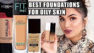 BEST FOUNDATIONS FOR OILY SKIN | Affordable Picks | BeautiCo.