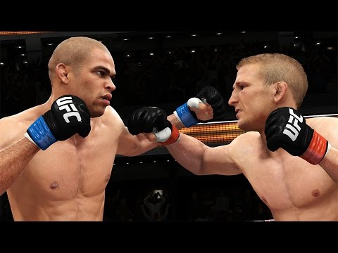 UFC 177: EA SPORTS UFC Simulation – Dillashaw vs. Barao II