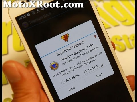 How to Root Moto X and Motorola Android Devices!