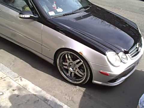 Two Tone Custom Mercedes Clk 63 Amg Youtube