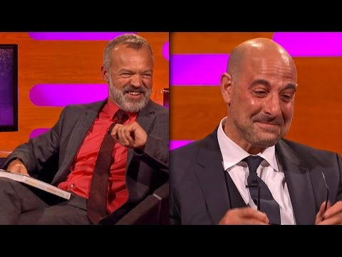 Stanley Tucci in TEARS on The Graham Norton Show