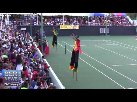St Kitts Stilt Walkers At Gombey Festival, September 13 2014