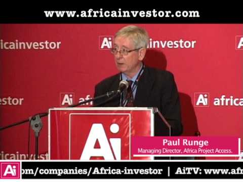 Paul Runge, Managing Director of Africa Project Access, Ai CEO Infrastructure Investment Summit 2013