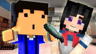 YANDERE - HOW TO HIT ON GIRLS WITH FISH! (Minecraft Roleplay) #3