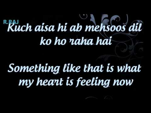 Abh Hai Samne ♥ -  Wid English Lyrics