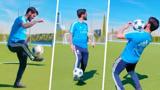 INSANE TOUCH & CONTROL CHALLENGE WITH ISCO!😱⚽️