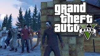 GTA 5 Online - JASON VOORHEES / FRIDAY THE 13TH! (GTA V Online)