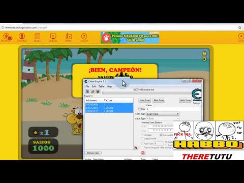 Como Hackear Mundo Gaturro: Dinero Con Cheat Engine 6.1 2012!!!