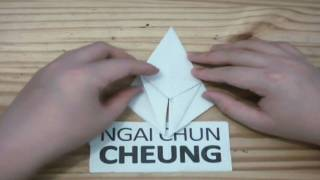 Origami Lily Iris Flower (tutorial)