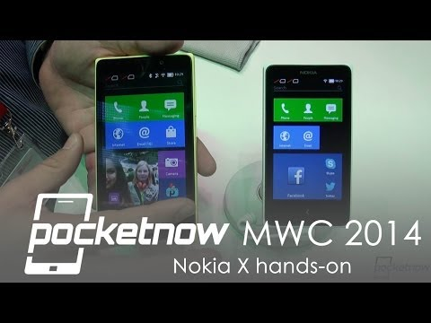 Nokia X, X+ and XL Hands-on - MWC 2014