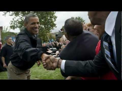 President Obama Tours Iowa Family Farm On A day Devoted To Wind Energy