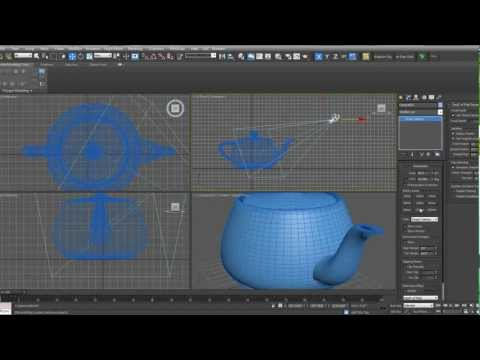 Setting up Cameras in 3ds Max