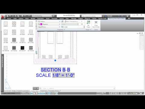 AutoCAD 2013: Section Views