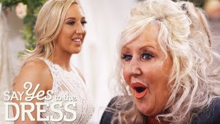 Perfectionist Bride Wows Mum In A Glamorous Wedding Dress | Say Yes To The Dress Lancashire