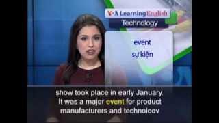 Anh ngữ đặc biệt: Consumer Electronics Show 2014