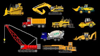 Construction Vehicles Vocabulary, The Kids Picture Show