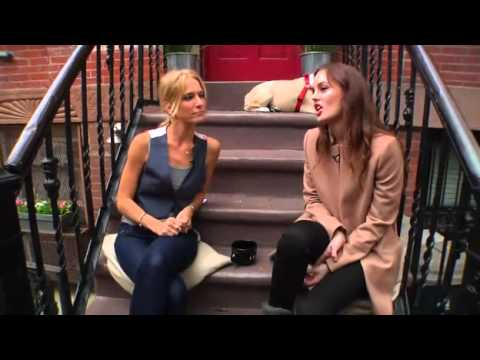 "Leighton Meester - Interview on ""Talk Stoop"""