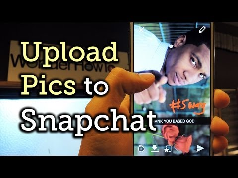 Use Photos & Videos in Your Android Gallery as a Snapchat - Samsung Galaxy Note 3 [How-To]