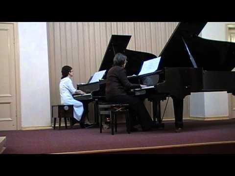 Моцарт Вольфганг Амадей - Менуэт для фортепиано ре мажор (фрагмент)