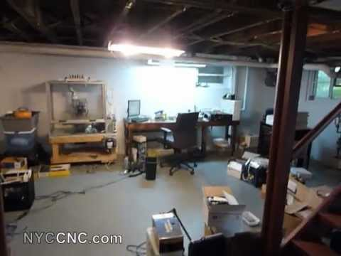 NYC CNC - First video of the new machine shop in the suburbs!