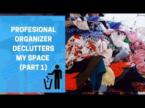 PROFFESIONAL ORGANIZER DECLUTTERS MY HOUSE Part 1 #DEBTEMBER DAY 18