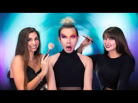 My Best Friends Do My Makeup | BIG Mistake!