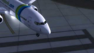 FSX HD - Transavia-GOL Lease 737-800NGX (PH-GGW Repaint)