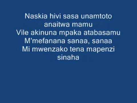 Mbagala Lyrics video