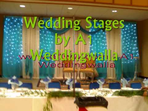 Mehndi Stages Latest Mehndi Designs for Wedding Stages by A1 Weddingwalla